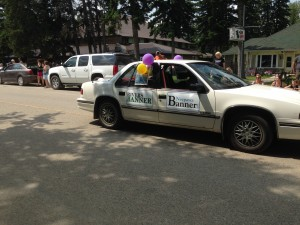 Chamber Days Parade - August 9, 2014 NEEPAWA BANNER
