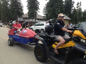 Chamber days parade - August 9, 2014 RESCUE TEAM